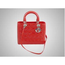 Dior Cannage Bag Red