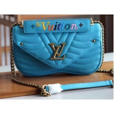 Louis Vuitton New Wave Leather Chain Bag Mm m51946