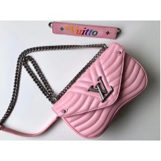 Louis Vuitton New Wave Leather Chain Bag Mm m51944