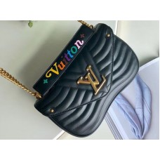 Louis Vuitton New Wave Leather Chain Bag Mm m51498