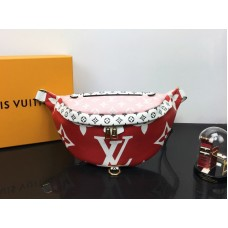 Louis Vuitton Supreme Limited Edition Bumbag Red